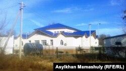 Қойлық ауылының жаңа дәрігерлік амбулаториясы. Алматы облысы, Сарқан ауданы, 29 қараша 2013 жыл.
