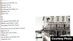 Poem de Celan dedicat scriitoarei Nelly Sachs