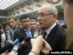 Башкортстан президенты Рөстәм Хәмитов журналистлар белән очрашты