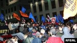 Акція протесту опозиція. Мінськ, 29 вересня 2008 р.