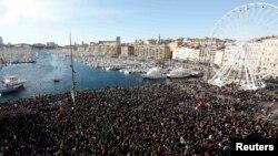 Skup u Marseju, 10. januar 2015.
