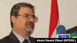 وزير الشباب والرياضة جاسم محمد جعفر