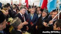 Украина президенты Петр Порошенко Анкара һава аланында, 2016 елның 9 марты
