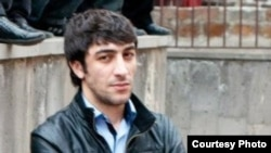 Armenia -- Vilen Gabrielyan, an Armenian activist attacked in Yerevan on 17 January, 2015.