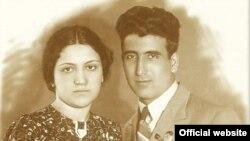 Mirzə İbrahimov və həyat yoldaşı