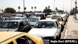 شوارع بغداد في هذه الايام