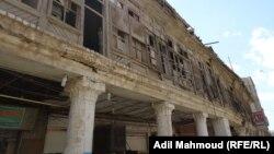 بيت بغدادي تراثي آيل للسقوط