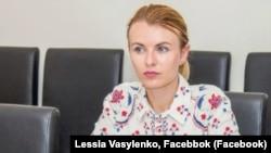 Леся Василенко, голова ГО «Юридична сотня»