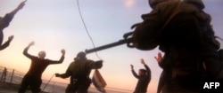 """Захват активистов """"Гринпис"""" и экипажа """"Арктик Санрайз"""" спецназом погранвойск России. 19 сентября 2013 года"""