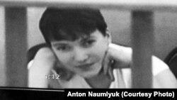 Надежда Савченко в суде, 21 августа 2015 года