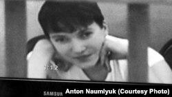 Надежда Савченко участвовала в судебном заседании 21 августа 2015 г. по видеосвязи