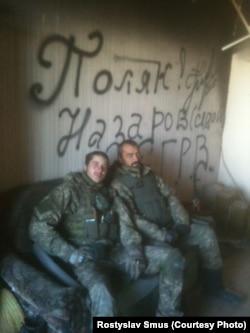 «Кіборги» Євген Поляков і Сергій «Сєдой»