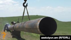 Խողովակաշարի շինարարություն Հայաստանում, արխիվ