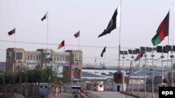 На границе Пакистана с Афганистаном. Чаман, 7 мая 2017 года.