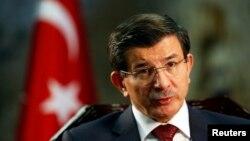 Kryeministri i Turqisë, Ahmet Davutoglu.
