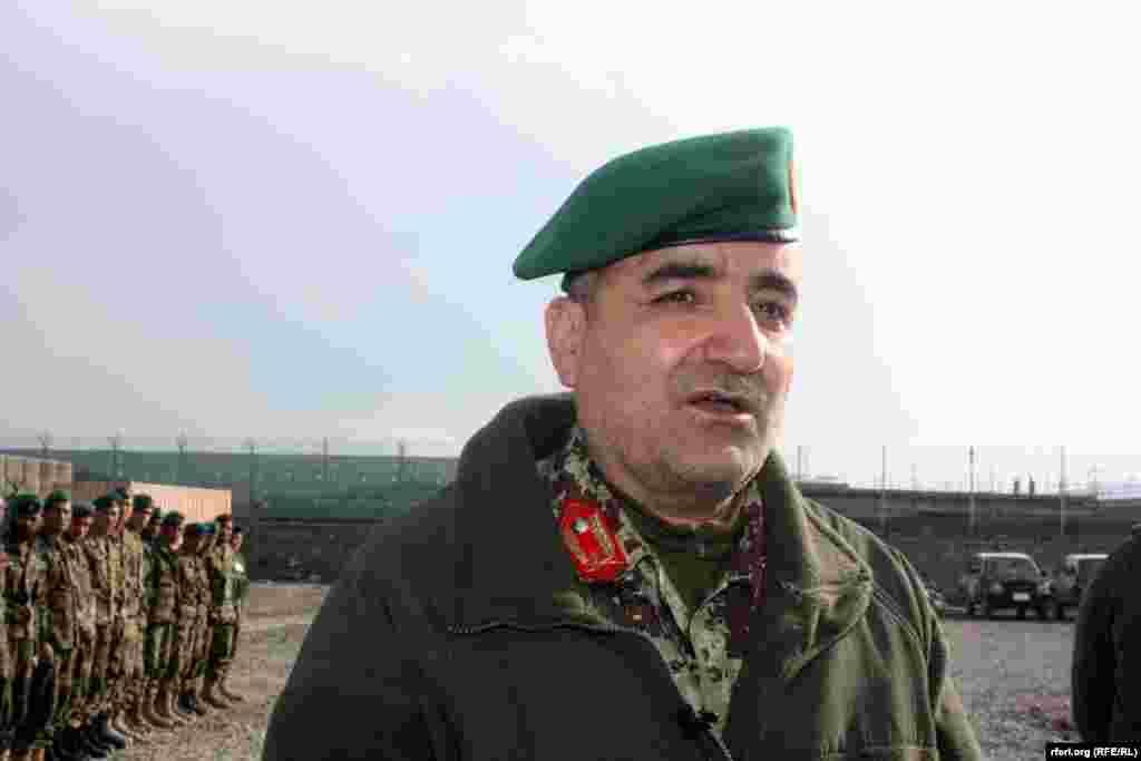 قدم شاه شهیم قوماندان فرقه 111 اردوی افغان در زون مرکزی