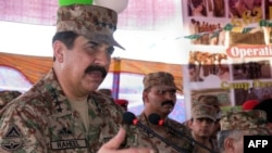 Pakistani army chief Raheel Sharif
