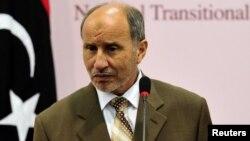 Шефот на Либискиот преоден совет, Мустафа Џалил.