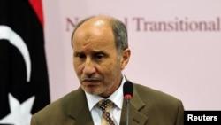 مصطفی عبدالجلیل، رئیس شورای ملی انتقالی لیبی.