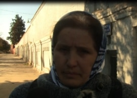 Solida Movlayeva, mother of jailed Azerbaijani youth activist Bakhtiyar Hajiyev