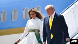 Прибуття президента Дональда Трампа з дружиною до Індії, 24 лютого 2020 року