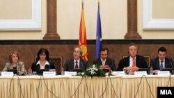 Од состанокот на Мешовитиот парламентарен комитет меѓу ЕУ и Македонија.