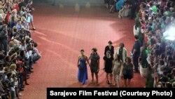 Ceremonija crvenog tepiha prvog dana 20. SFF