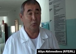 Жаикбек Толкынбеков, заведующий отделением кожно-венерологического диспансера Талдыкорана.