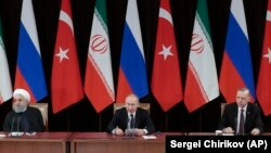 Турскиот претседател Реџеп Таип Ердоган ќе им биде домаќин на претседателите на Иран и на Русија Хасан Рохани и Владимир Путин