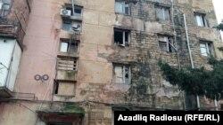 Azerbaijan - building in Javans