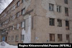 Общежитие на улице Татарстана