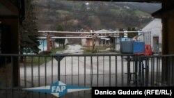 Ulaz u fabriku FAP, Priboj, 2016.