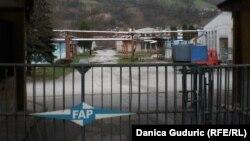 Ulaz u fabriku FAP, Priboj