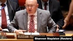 Посол Росії в ООН Василь Небензя