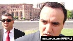Секретарь Совета национальной безопасности Артур Багдасарян