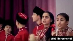 """Кубанский детский ансамбль """"Канарейка"""" исполняет песню """"Ойся ты ойся"""""""