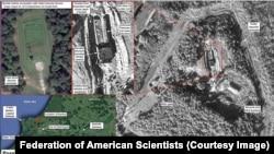 Супутникові знімки, опубліковані Федерацією американських учених