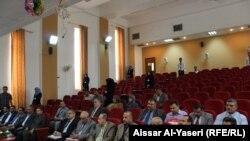 جانب من مؤتمر توحيد مناهج العلوم السياسية