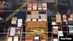 Yeni Zelandiyada kitab mağazası
