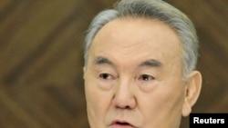 Қазақстан президенті Нұрсұлтан Назарбаев. 27 ақпан 2011 жыл.
