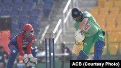 مسابقه کریکت میان تیم های افغانستان و آیرلند