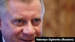 Yakiv Smoliy has been at the helm of the National Bank of Ukraine since March 2018. (file photo)
