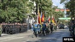 სამხედრო აღლუმი ცხინვალში, 2011 წლის 20 სექტემბერი