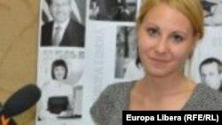 Moldova-Alla Ceapai, Radio Europa Libera Correspondent in Chisinau.