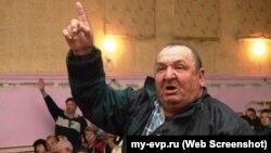 Обсуждение вопроса добычи песка на Донузлаве на общественных слушаниях в Мирном. 1 октября