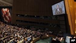 Премиерот Никола Груевски и шефот на македонската дипломатија Никола Попоски присуствуваат на Генералното собрание на Обединетите нации.