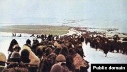 Отступление итальянской армии в январе 1943 года