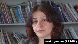 «Թրանսփարենսի ինթերնեյշնլ»-ի փոխտնօրեն Սոնա Այվազյանը «Ազատության» ստուդիայում: