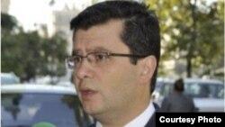 Azerbaijan -- Elman Abdullayev, spokesman of Azerbaijan Foreign Ministry, Baku, 18Mar2012