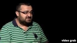 Переводчик Михран Бертизлиан. Ереван, 11 сентября 2013 года.